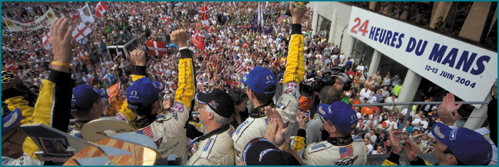 Le Mans 2004 - 1st & 2nd in class