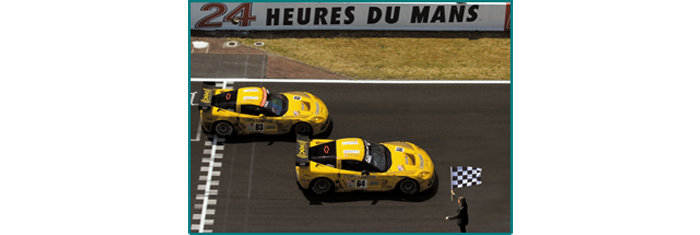 Le Mans 2005 - 1st & 2nd in class