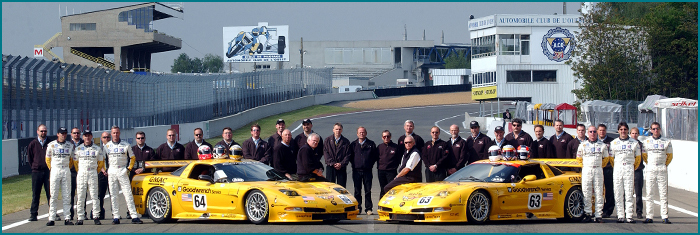 Le Mans 2002 - 1st & 2nd in class