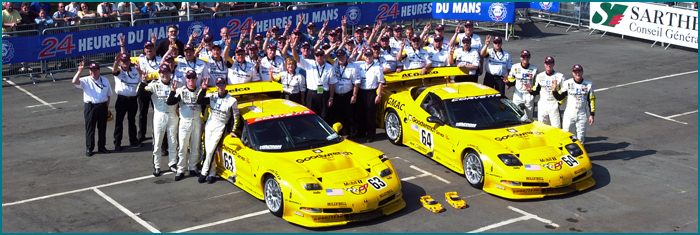 Le Mans 2001 - 1st & 2nd in class